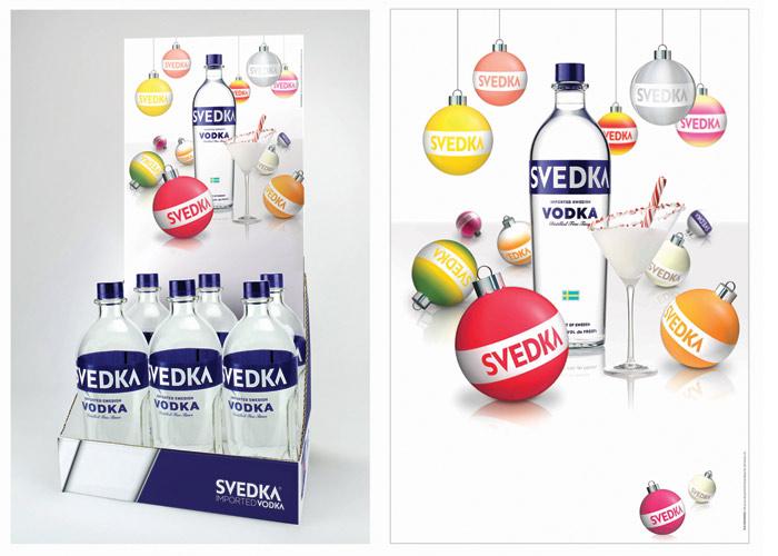 SVEDKA Vodka Holiday POP