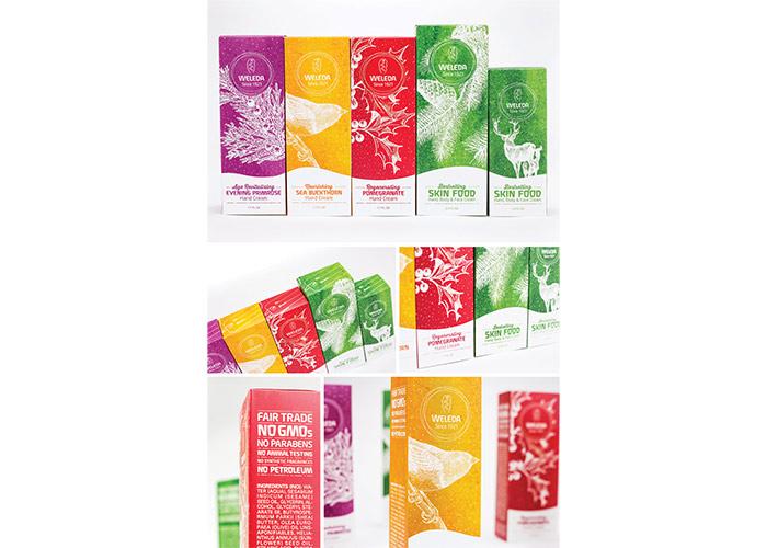 Weleda Holiday Packaging by Brigade