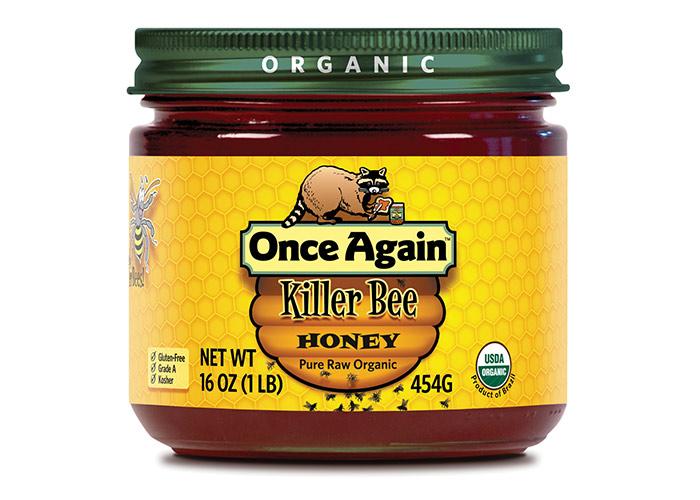 Once Again Killer Bee Honey