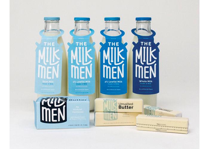 Milkmen Co-operative by Auburn University, School of Industrial + Graphic Design