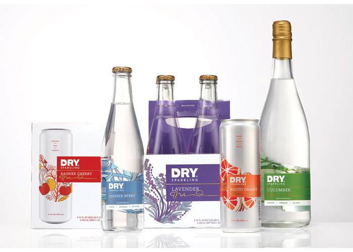 DRY Sparkling Branding & Packaging