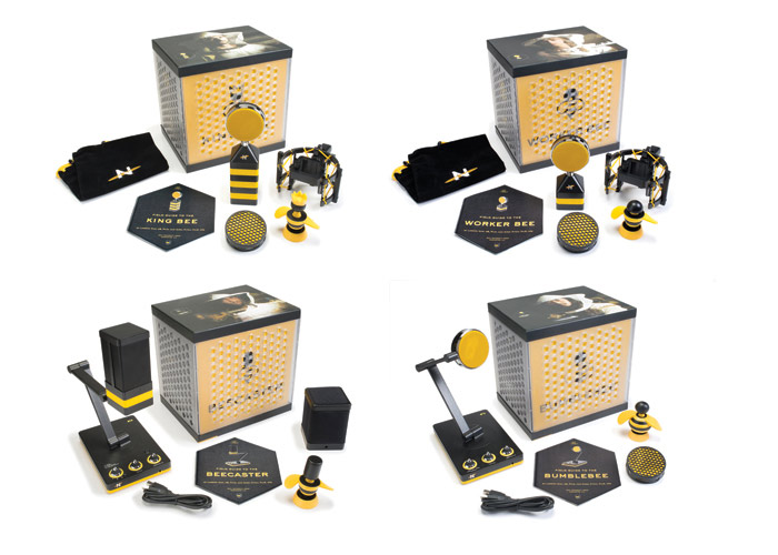 Bee Microphone Series (4 Piece Group) by Neat Microphones