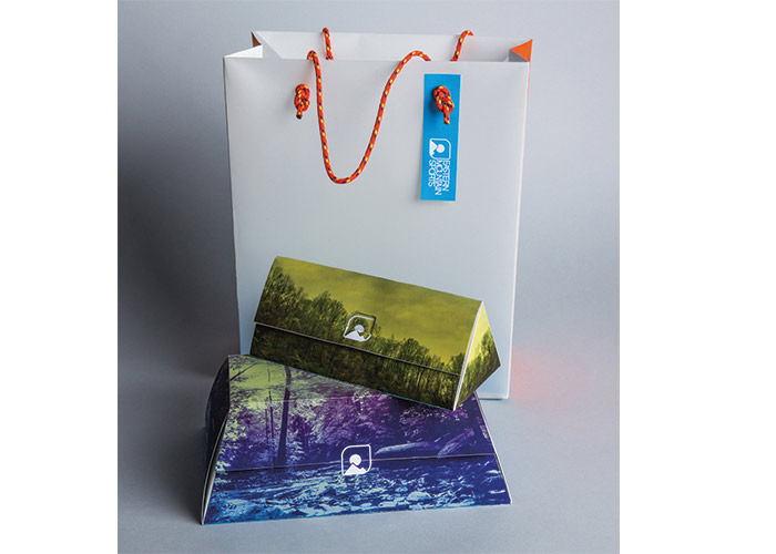Eastern Mountain Sports Gift Packaging by Drexel University, Antoinette Westphal College of Media Arts & Design