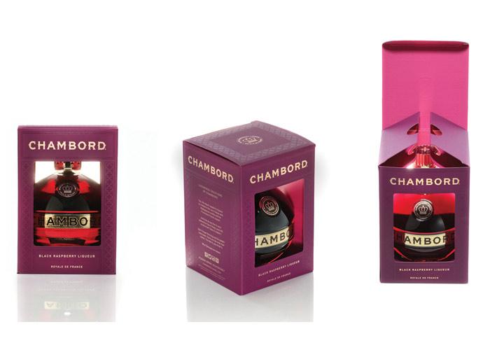 Chambord Shadowbox by Brown-Forman Beverages