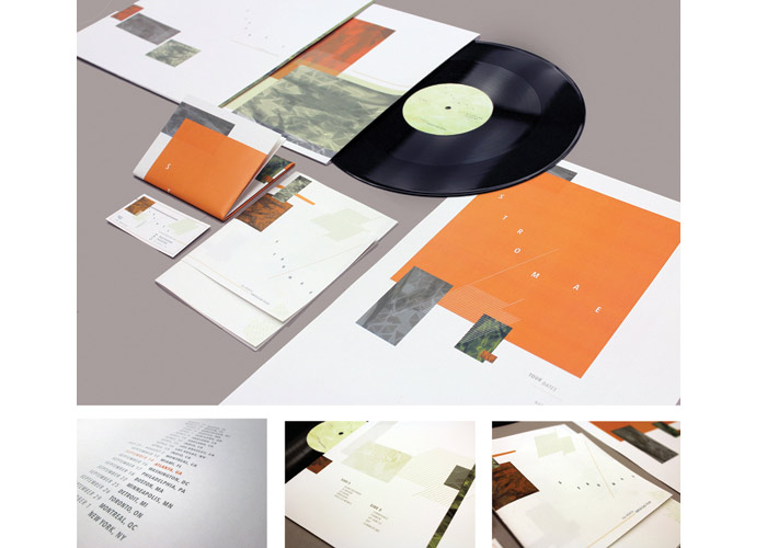 Stromae Live Recording LP by Auburn University, School of Industrial + Graphic Design