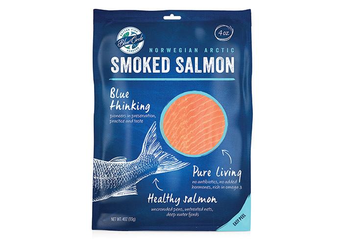 Blue Circle Smoked Salmon by Safari Sundays