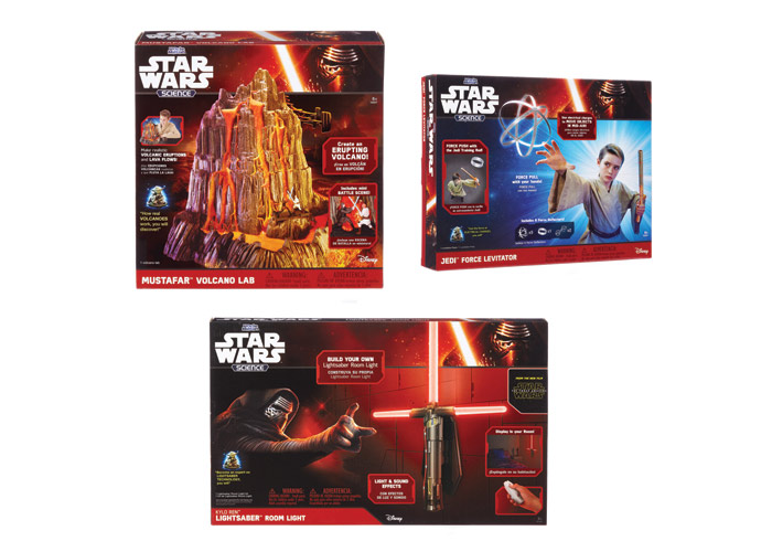 Selected Star Wars Science Packages © & ™ Lucasfilm Ltd. by Uncle Milton Industries