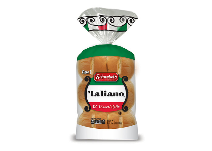 Schwebel's 'taliano Dinner Rolls by Levitskie Creative