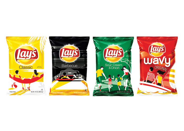 Lay's Summer Days Limited Edition Packaging by PepsiCo Design & Innovation
