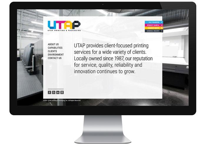 UTAP Website by 5Seven