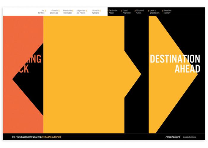 2014 Annual Report Website by Nesnadny + Schwartz