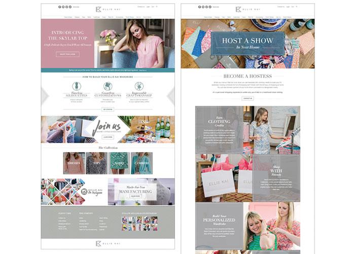 Ellie Kai Website by BRIGADE