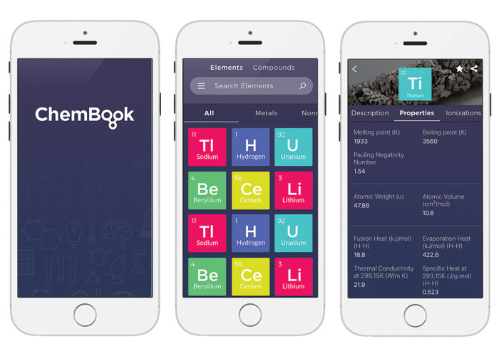 ChemBook Mobile App by MetroStar Systems