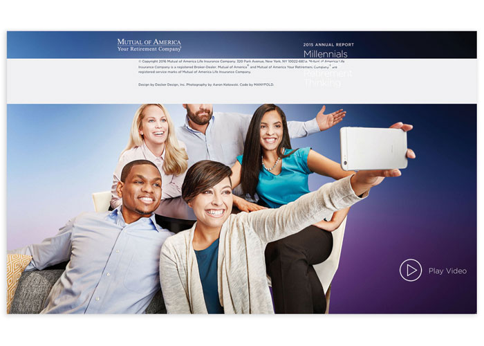 Mutual of America 2015 Annual Report: Millennials Reshape Retirement Thinking