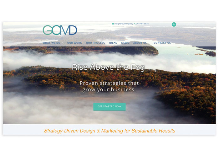 GCMD Website Rebuild by GCMD