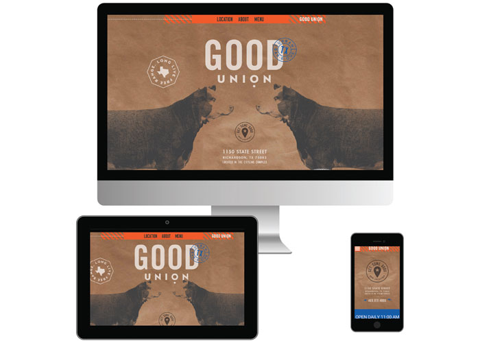 Bone Daddy#s Website Design by Atomic Design & Consulting / The Matchbox Studio
