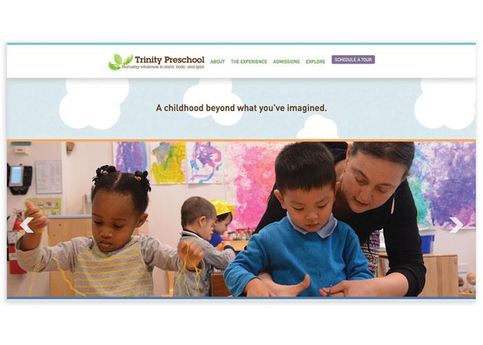 Trinity Preschool Website by Trinity Church Wall Street