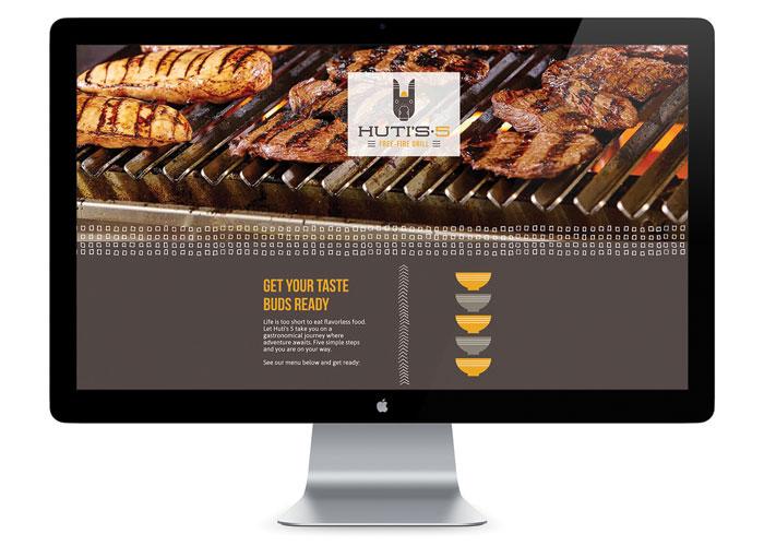 Huti#s 5 Website by Test Monki
