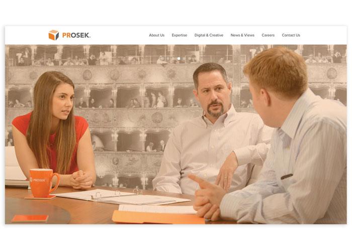 Prosek Partners Website by Prosek Partners