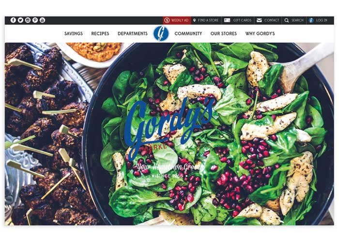 Gordy#s Market Website by JB Systems