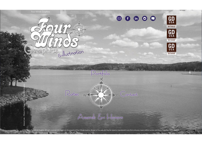 Four Winds Graphics Website 2016