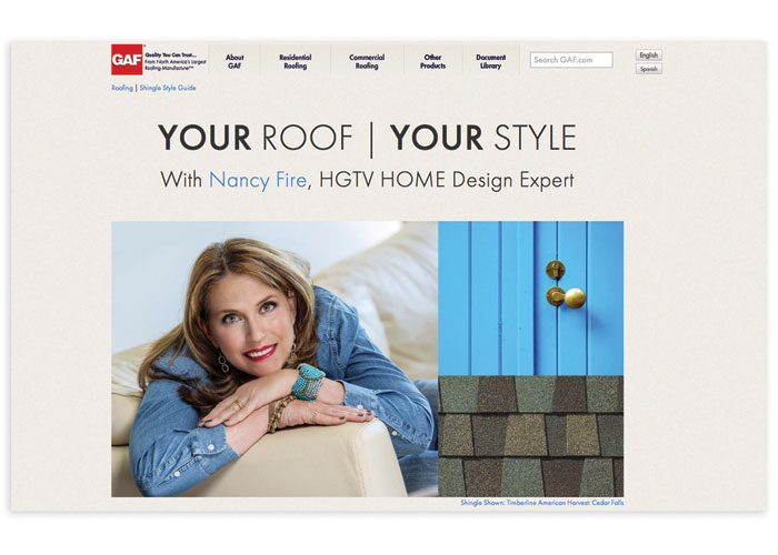 GAF Style Guide - Your Roof, Your Style by GAF