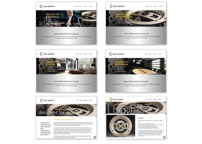 Lyric Speakers Website
