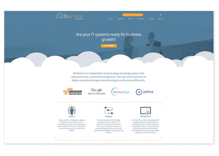 Midwest Cloud Tech Company Website