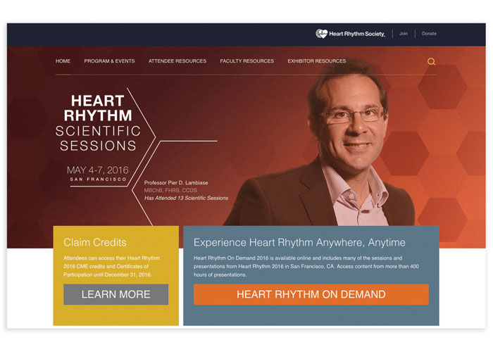 Heart Rhythm Scientific Sessions Microsite
