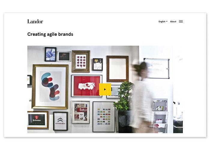 Landor Website by Landor