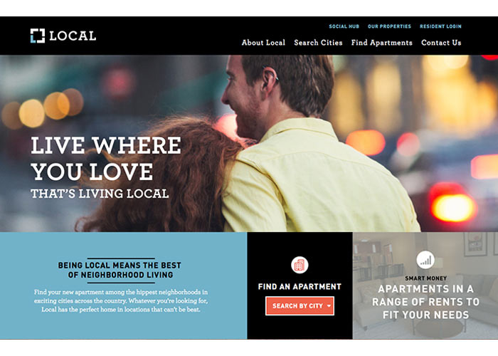 Local by Laramar Website by UpShift Creative Group