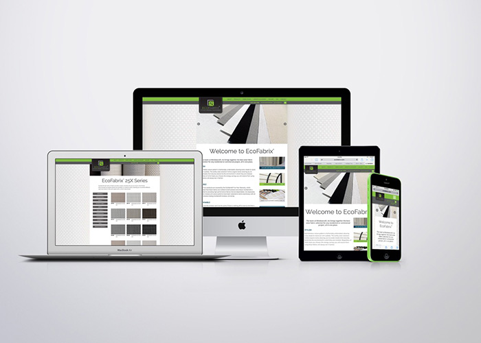 Ecofabrix Website by Thinkhouse
