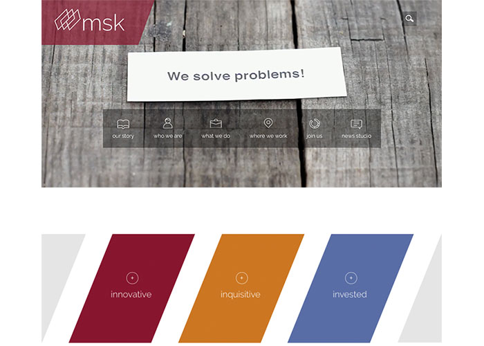 MSK Website by Firmseek