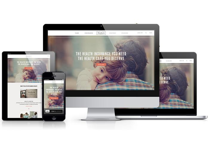 Harken Health Website by SapientNitro