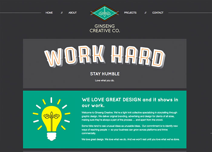 GinsengCreative.com by Ginseng Creative Co.