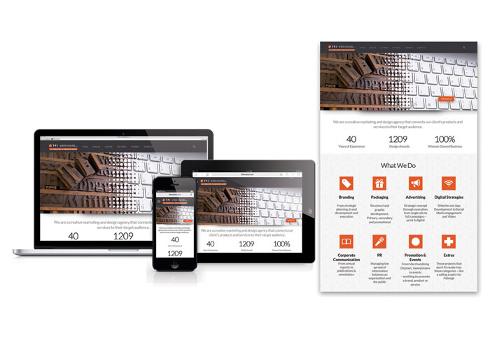 TFI Envision Responsive Website - 2015 New Design by TFI Envision, Inc.