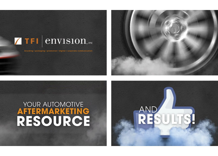 TFI Envision, Inc. Automotive Aftermarket Sizzle Reel Video