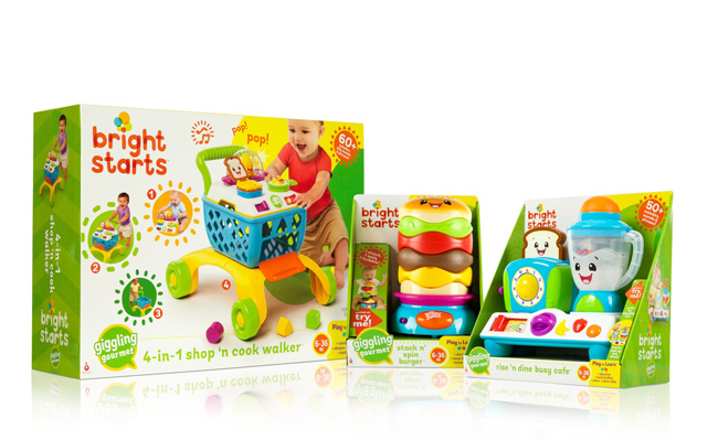 Bright Starts Giggling Gourmet Collection