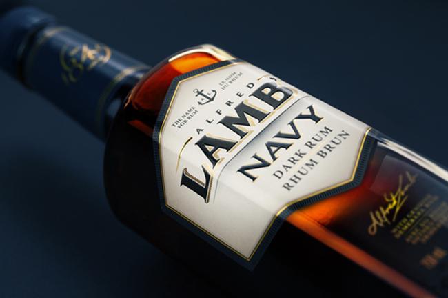 Davis-Lambs-Rum-Label
