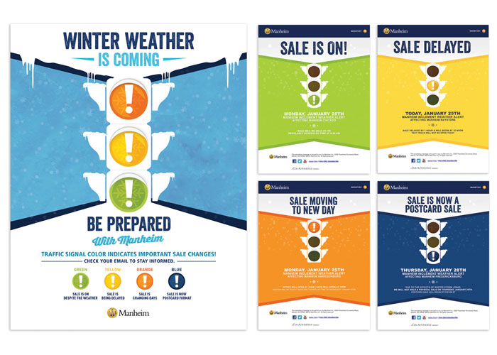 Winter Weather Email Campaign