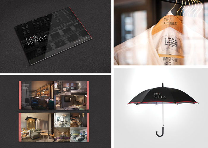 Time Hotels Brand Identity System