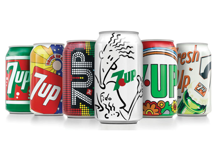 7Up Vintage Cans Limited Edition