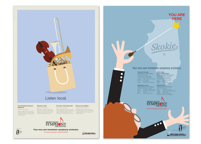 Skokie Valley Symphony Orchestra Posters