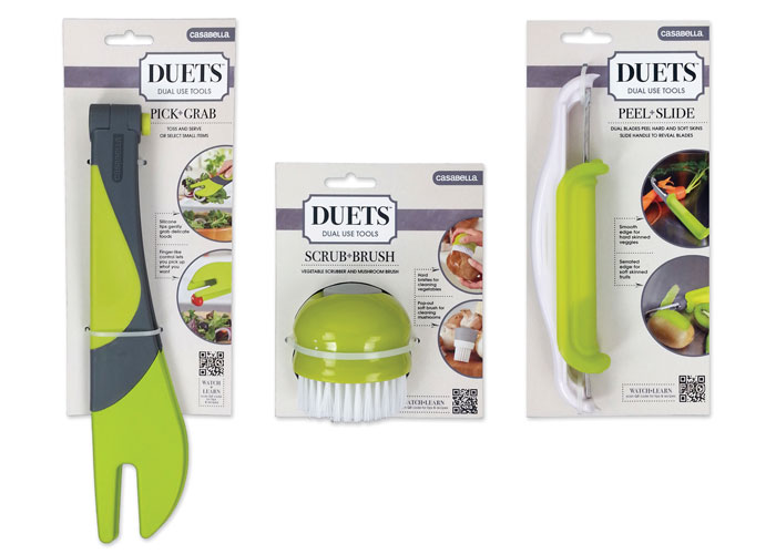 Duets - Dual Use Kitchen Tools Package Design