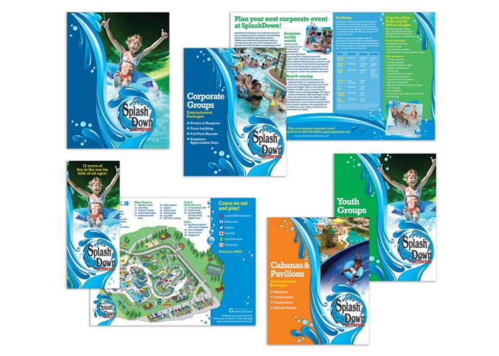 SplashDown Waterpark 2016 Sales Collateral Package