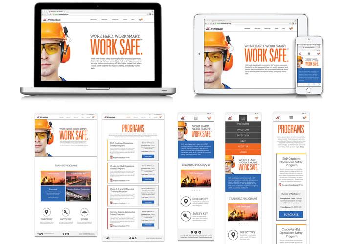 API WorkSafe 2.0 Website