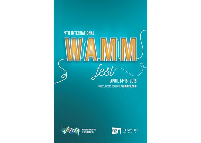 WAMM (Women & Minorities In Media) Festival Poster