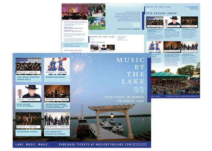 Music by the Lake Season Calendar