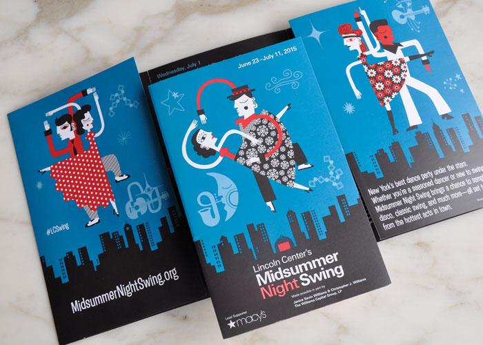 Lincoln Center Midsummer Night Swing 2015 Brochure
