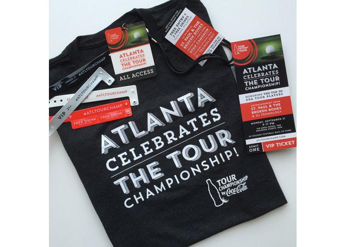 Atlanta Celebrates The TOUR Champion Identity